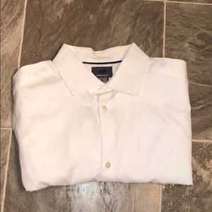 H&M | White Button Down 15 3/4, Slim Fit